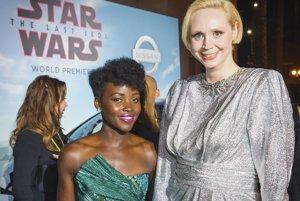 Lupita Nyong a Gwendoline Christie.