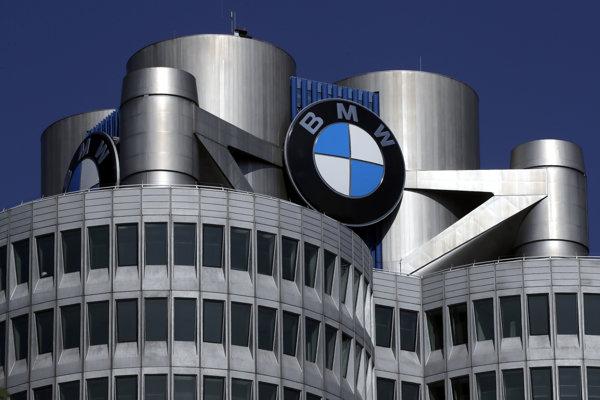 Sídlo automobilky BMW v Mníchove.