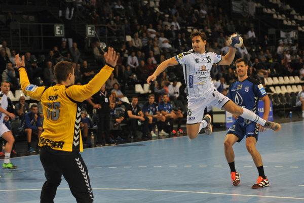 Bruno Butorac v zápase proti Záhrebu.
