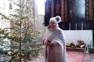 Barbora Thomayová. Rozpovedala príbeh otom, ako slávili šľachtici Vianoce.