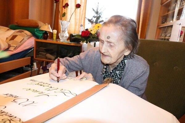 Druhá najstaršia. Nad sto rokov majú štyria obyvatelia Prešova.