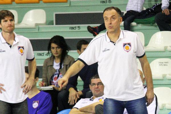 Dragan Ristanovič (vpravo) pôsobil ako asistent Petra Semana necelé dva mesiace.