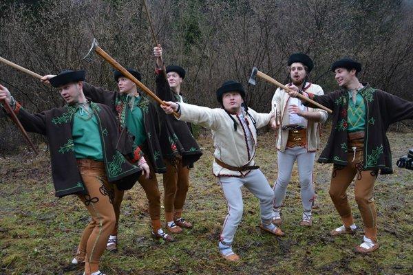 Jánošíková družina v novom videoklipe.