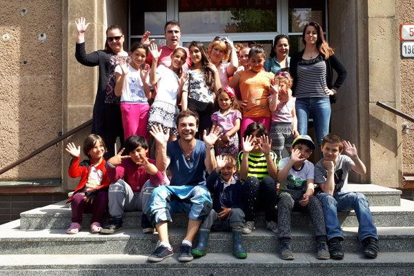 Foto z podujatia komunitného centra.