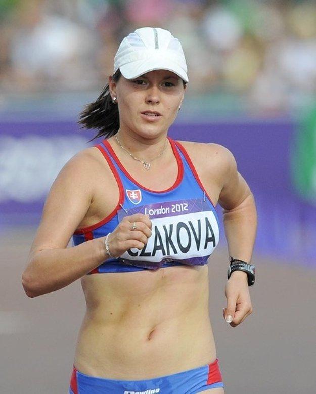 Naša atlétka Mária Katerinka Czaková.