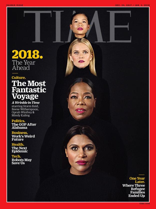 Titulka časopisu Time od Michala Pudelku.