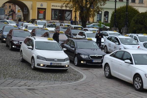 Nové nariadenie upravuje aj vjazd taxíkov do centra mesta.
