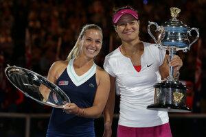 Dominika Cibulková podľahla vo finále Australian Open čínskej tenistke Na Li.