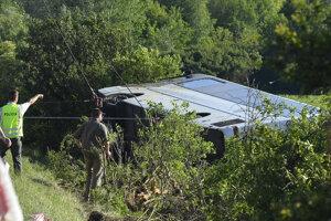Na mieste zomreli štyri dievčatá, ktoré chodili do jednej triedy Športového gymnázia v Trnave.