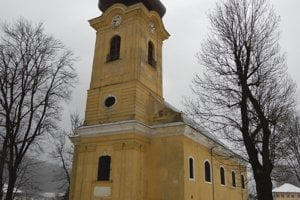 Kostol svätej Kataríny Alexandrijskej v Smolníku.
