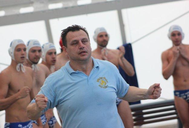 Tréner Peter Tkáč neskrýval veľkú radosť.