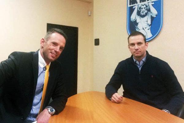 Richard Lintner rokoval o zápase hviezd s riaditeľom HK Nitra Miroslavom Kováčikom.