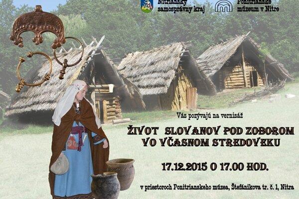 Život Slovanov pod Zoborom vo včasnom stredoveku