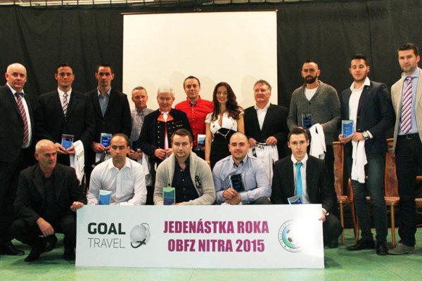 Goal Travel Jedenástka roka 2015 je zložená z hráčov jedenástich klubov.