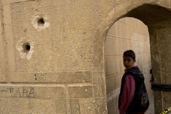 Miestom streľby bola obec Omoku.