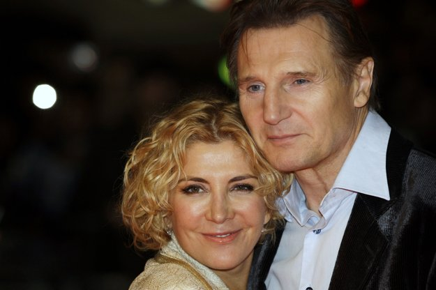 Liam Neeson s manželkou Natashou Richardsonovou.