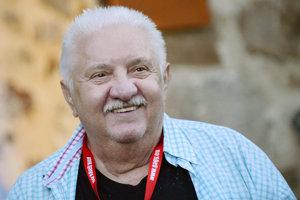 Marián Labuda v roku 2016 na Kremnických gagoch.