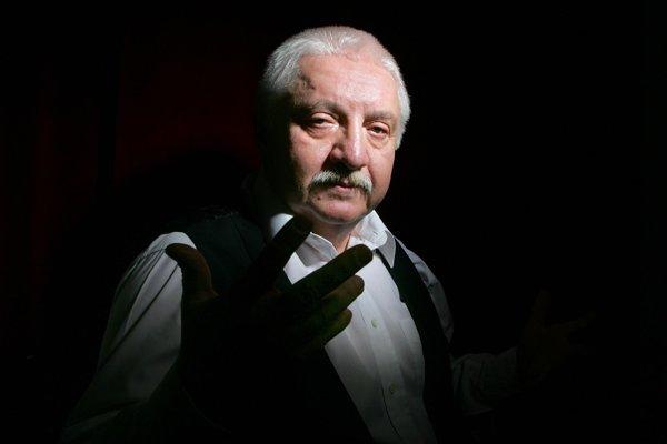 Slovenský herec Marián Labuda v decembri 2005.