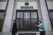 Pobočka Sberbank.