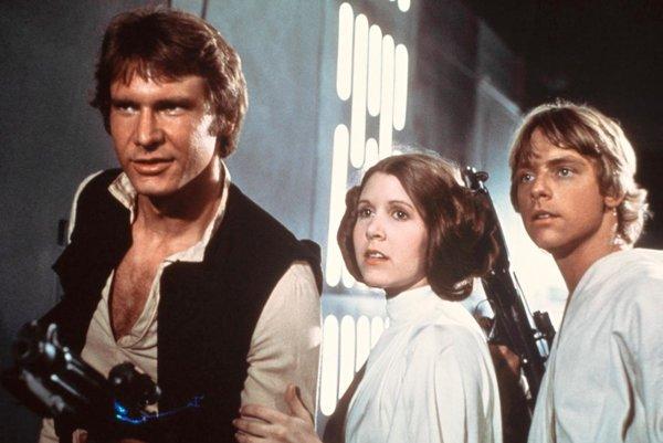 Star Wars, keď začínali v roku 1977.