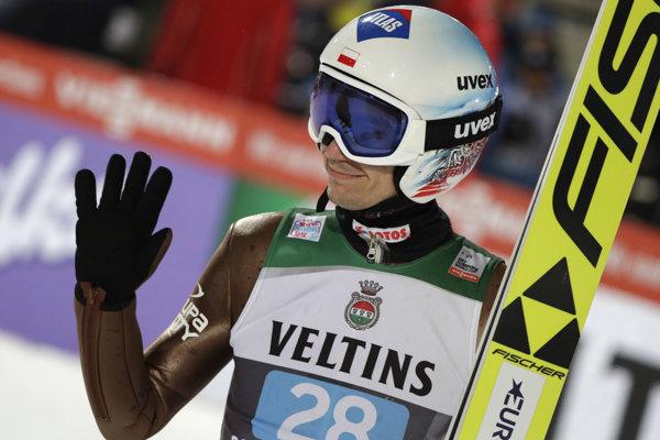 Kamil Stoch zažiaril na Turné štyroch mostíkov.