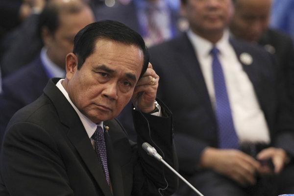 Thajský premiér Prajut Čan-o-ča.