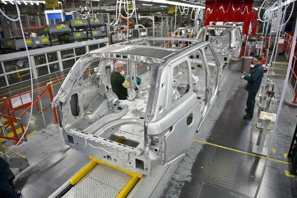 Jaguar Land Rover chcel s výrobou pri Nitre začať tento rok. (ilusračné foto)