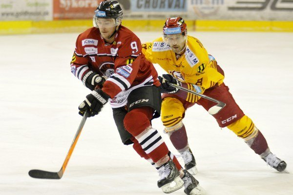 Juraj Majdan bol v Trenčíne jediným strelcom HC 05.