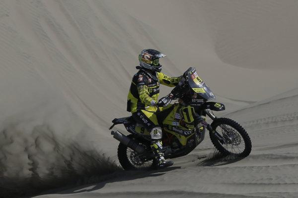 Štefan Svitko posledný ročník Rely Dakar nedokončil.