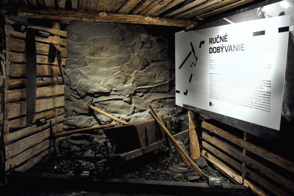 Jedna z expozícii banského múzea.
