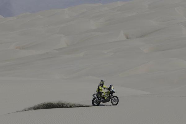 Štefan Svitkoskončil v 7. etape na Rely Dakar 2018 na siedmom mieste.