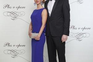 Ondrej Gallo (riaditeľ Nadácie pre deti Slovenska) s manželkou Elenou