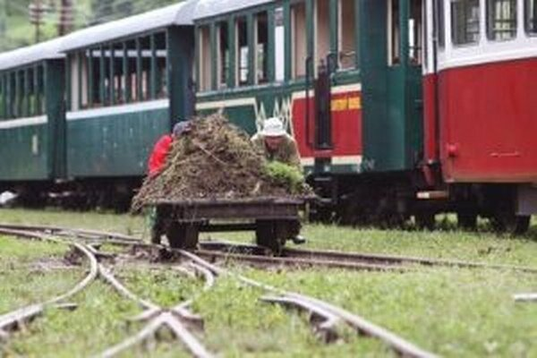 Brigádnici z Čiernohronskej železničky voľby stihnú