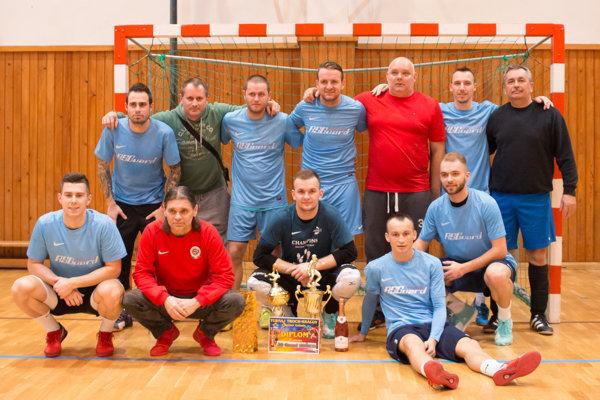 Víťazný tím AS GS Košice