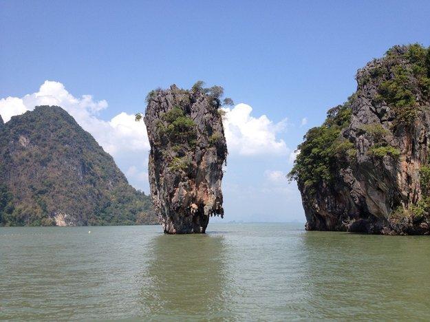 Phuket: Ostrov Jamesa Bonda.