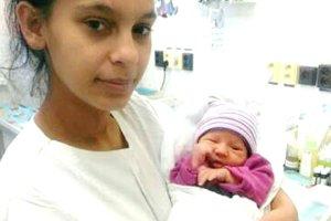 Prvým dieťaťom roka 2017 v Martine bola Alexandra.
