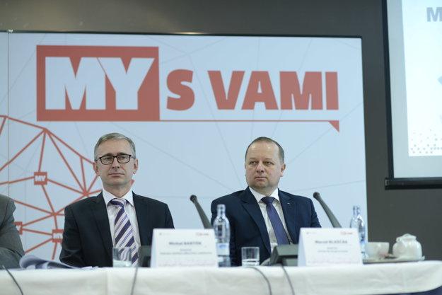 Marcel Blaščák (vpravo), Michal Bartók(vľavo).