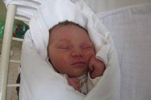 Laura Kajabová (3760 g, 50 cm) sa narodila 9. januára Lucii a Lukášovi z Trenčína.