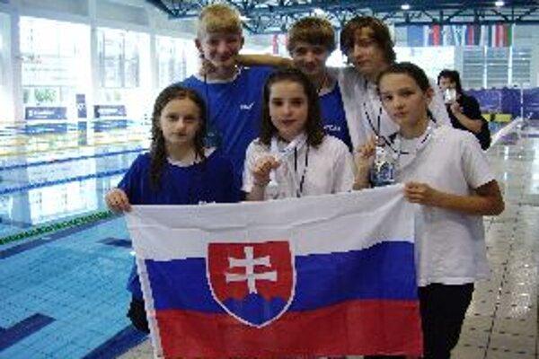 Mladí plavci z Banskej Bystrice reprezentovali úspešne