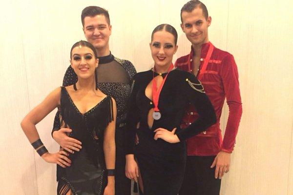 Úspešní martinskí tanečníci, ktorí bodujú aj na českých súťažných pódiách.