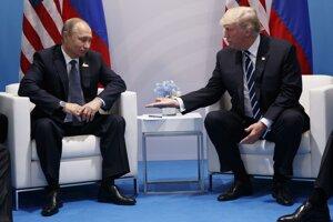 S ruským prezidentom Vladimírom Putinom na samite G20.