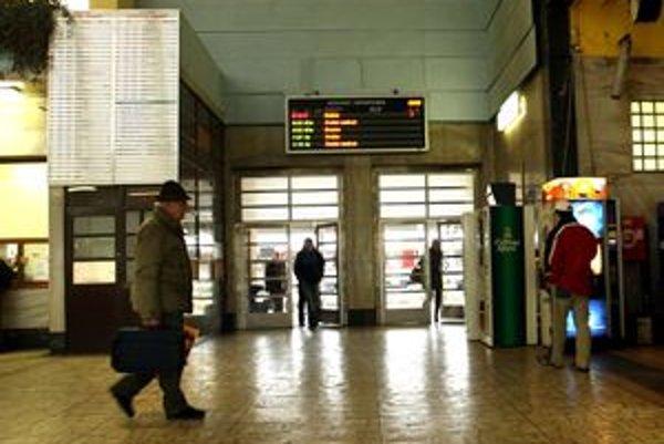 Železničná stanica v Banskej Bystrici.