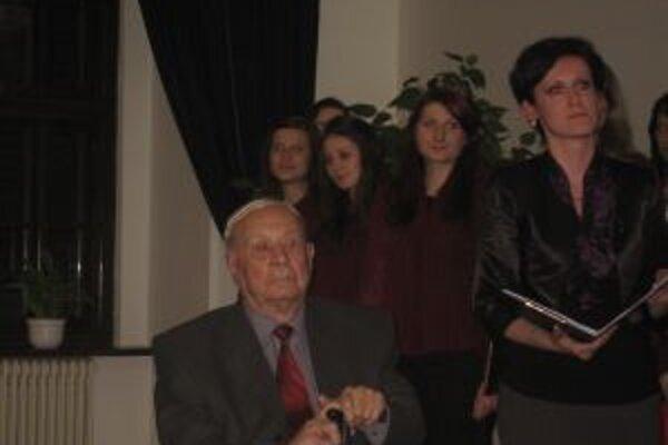 Hudobný skladateľ Zdenko Mikula zavítal deň po dosiahnutí krásnych 95 rokov do Banskej Bystrice, kde prežil kus detstva