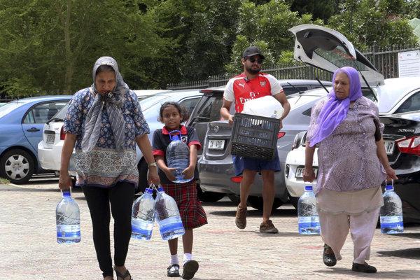 Kapské mesto má problémy s vodou.