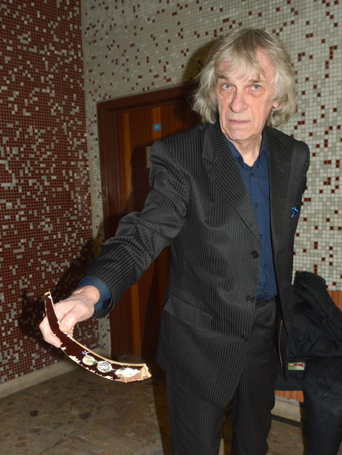 Kalmus opäť stál pred súdom pre osekávanie symbolov komunizmu - kosice.korzar.sme.sk
