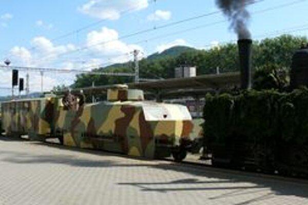 Pancierový vlak Štefánik.