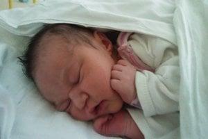 Anabela Mocková (3740 g, 52 cm) sa narodila 13. januára Klaudii a Vladimírovi z Brezovej pod Bradlom. Doma už majú trojročnú dcérku Lauru.