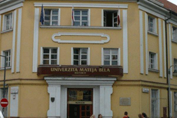V najbližších týždňoch sa môže rozhodnúť, že UMB ostane univerzitou.
