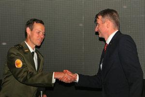 Matej Tóth s Dr. Róbertom Mistríkom.