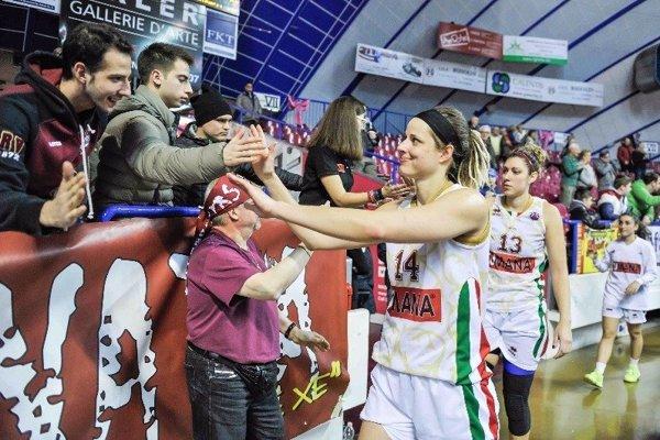 Marie Růžičková v drese Benátok.